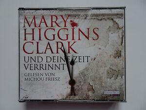 UND DEINE ZEIT VERRINNT von Mary Higgins Clark 6 CDs