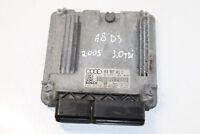 #4391G Audi A8 D3 2006 LHD ENGINE CONTROL 4E0907401C / 4E0910401S