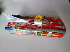 VINTAGE, TIN, SPACE SHIP ROCKET BY ASTRONEF ELECTRIQUE RARE WORKING ITEM