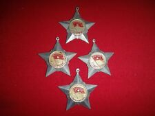 """Vietnam War Group OF 4 Vintage VC Medals """"SOLDIER OF GLORY"""" Without Ribbons"""