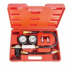 Petrol Engine Compression Leakage Leakdown Detector Cylinder Leak Tester Kit US