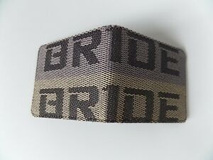 JDM BRIDE STYLE WALLET GREY GOLD