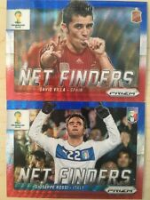 (2) Lot 2014 Panini Prizm World Cup ROSSI VILLA Net Finders Blue Red Wave