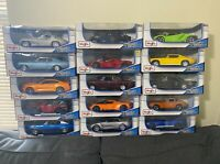 Maisto Diecast 1:18 Scale Special Edition-Multiple car models FREE SHIPPING!!!