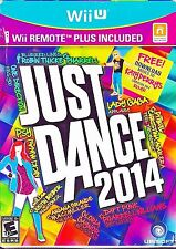 Just Dance 2014 + Wii Remote Plus (Nintendo Wii U, 2013)  *Factory Sealed*