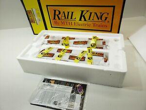 RAIL KING MTH ALCO PA AA DIESEL SET W/ PROTO SOUND 3.0 O GAUGE 30-20129-1