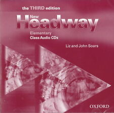 NEW HEADWAY Elementary THIRD EDITION Class Audio CD's @BRAND NEW & SEALED@