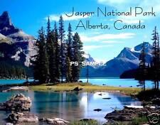 Canada Alberta JASPER NATIONAL PARK #2 - Travel Souvenir Flexible Fridge Magnet