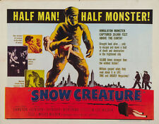 The Snow Creature (1954) Cult Horror movie poster print 3