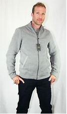 ARMANI EXCHANGE ZIPPER SWEATER JACKET GRAY COTTON BRAND NEW SZ XS