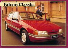 1991 FORD EA FALCON CLASSIC Australian 2 Page Brochure