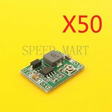 50 pcs Mini 3A DC-DC Converter Adjustable Step down Power Supply Module