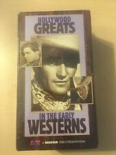 Hollywood Greats in the Early Westerns (VHS, 1997, 3 Tape Set) BRAND NEW SEALED