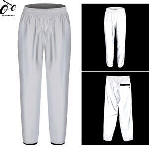 High Vis Reflective Pants Waterproof Rain Over Trousers Cycling Pants Sportswear