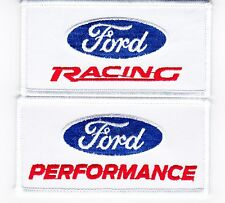 FORD RACING PERFORMANCE SEW/IRON ON PATCH EMBROIDERED SHELBY COBRA MERCURY 427