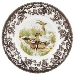 """Woodland by Spode  dinner 10.5"""" Wood Duck plate Made in England"""