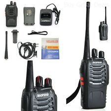 Handheld Scanner Portable Two Way Radio Transceiver Antenna UHF Walkie Talkie