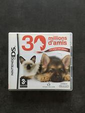 JEU NINTENDO DS  3DS : 30 MILLIONS D'AMIS mon refuge pour animaux       C4