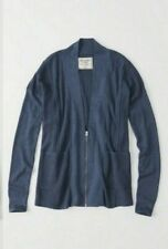 Abercrombie and Fitch AF Zip up Cardigan Sweater Size Women's Small
