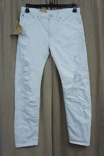 Denim & Supply By Ralph Lauren Jeans Sz 26 White Distressed Boyfriend Jean