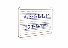 Dry Erase Whiteboard 9 X 12 Lined Surface Double Sided Writing Practice Aid