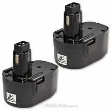 2 x 14.4V Ni-Cd Battery for Black & Decker PS140 PS140A A9262 A9267 A9276 A9527