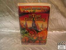 The Land Before Time III The Time of the Great Giving VHS Large Case Animated