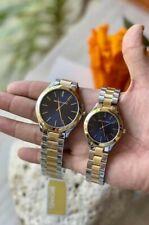 Michael Kors Slim Runway Couple Watch Two tone Blue Dial