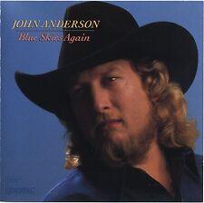 JOHN ANDERSON - Blue Skies Again - rare Country Rock CD