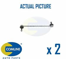 2 x NEW COMLINE FRONT DROP LINK ANTI ROLL BAR PAIR OE QUALITY CSL7043