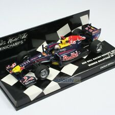 1 43 Minichamps red Bull Renault Rb7 Winner GP Malaysia Vettel 2011