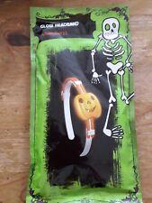Glow Stick Pumpkin Headband Halloween