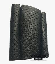 Per SEAT LEON MK1 TOLEDO MK2 1999-2005 Pomello del cambio copertina nera pelle traforata