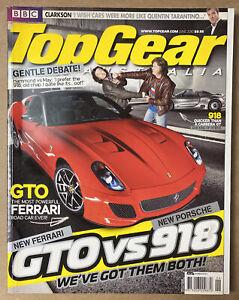 BBC Top Gear Australia June 2010 Magazine In Good Condition