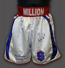 *New* Anthony Crolla Hand Signed Custom Made Boxing Trunks :