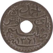 O121 Tunisie 10 centimes Ahmad PashaProtectorat Français 1942 SPL FDC -> Faire