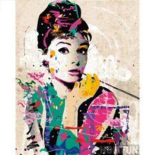 Audrey Hepburn Diamond Painting 5D Full Drill Embroidery Kits Decors DIY Gift AU