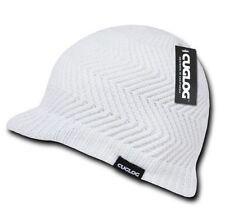 DECKY Cuglog Jeep Cap Winter Beanie Hat w/Small Soft Visor Pattern Elbert K011