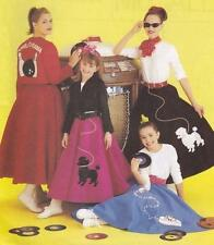 Teen Female Costume Sewing Patterns