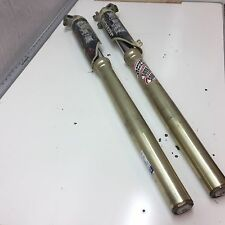 CRF250r Honda CR CRF 250 forks fork legs sliders guards front shocks see video