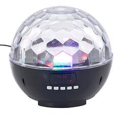 Boombox: Mobile Discokugel m. Bluetooth, 12-W-Lautsprecher, MP3-Player, 1200mAh
