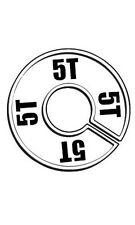 Count of 50 New Round Size Divider For Hangrail Size 5T 28 5T