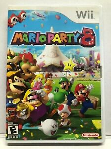 Mario Party 8 (Nintendo Wii, 2007) - Complete in Case w/ Manual - Tested Working