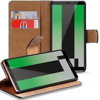 Handy Hülle Huawei Mate 10 Lite Case Schutz Tasche Flip Cover Schwarz Book Case