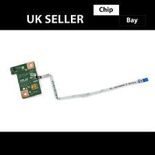 Genuino ASUS X751 X751LA Portátil Alimentación interruptor en OFF Botón Board 60NB07M0-PS1010