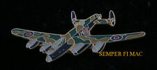 RAF LANCASTER HAT LAPEL PIN AVRO MADE IN US TIE TAC WING GIFT L@@K!