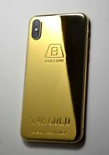 24K Gold plating done over iPhone xs max 256gb super luxury