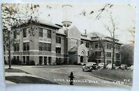 Real Photo Postcard, shiny finish 1940s  Home Econ Building, University ?city