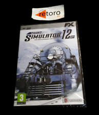 Trainz simulator 12 +sp1 pc dvd pal-spain spanish new factory sealed sealed
