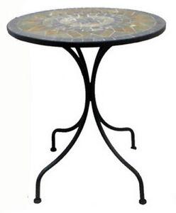 Mosaik Garten Bistro-Tisch Balkonmöbel Gartenmöbel Gartentisch Mosaiktisch
